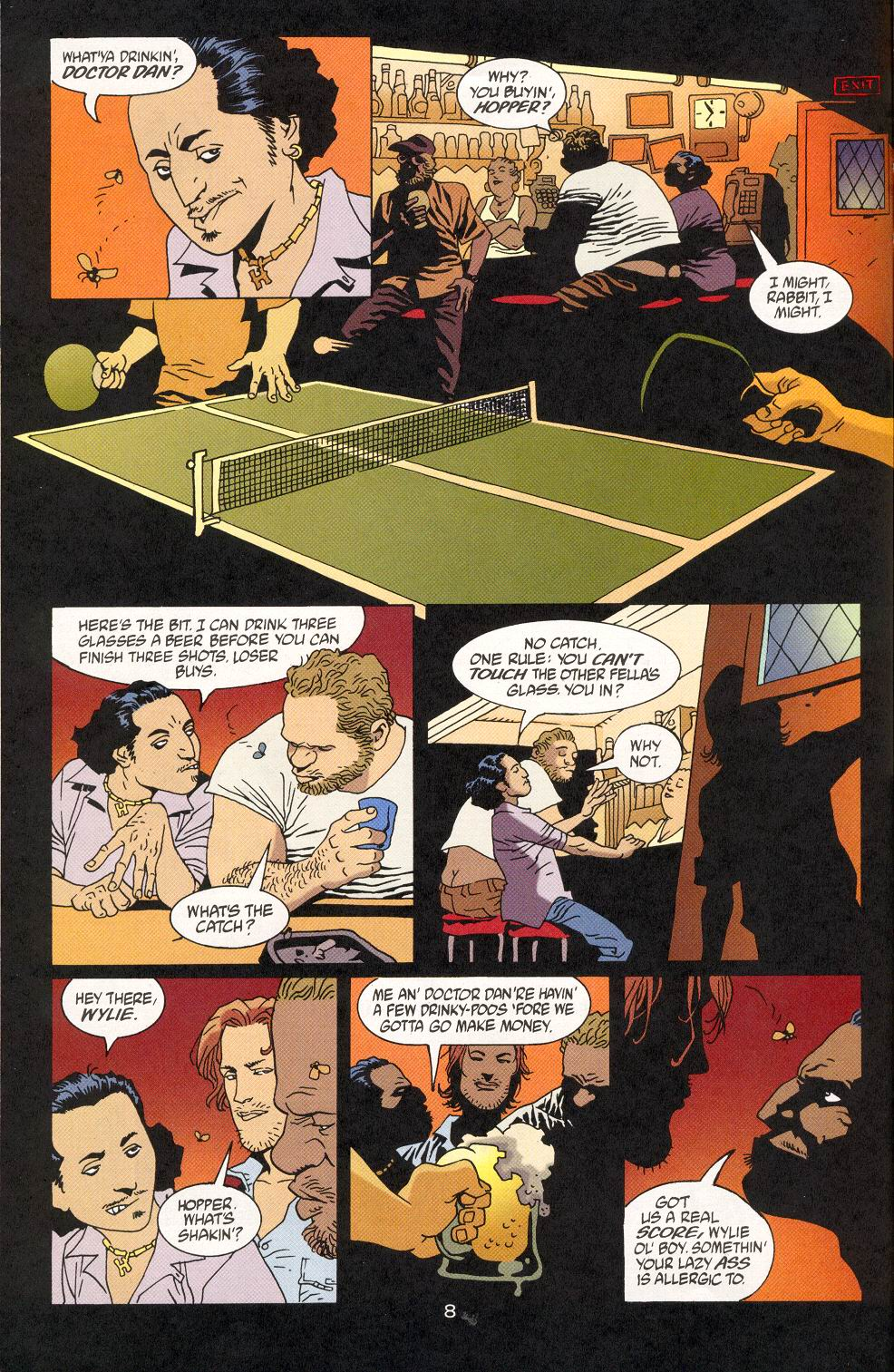 Read online 100 Bullets comic -  Issue #28 - 10