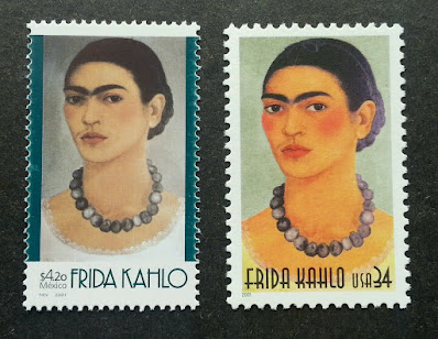 Frida Kahlo US Mexico joint issue