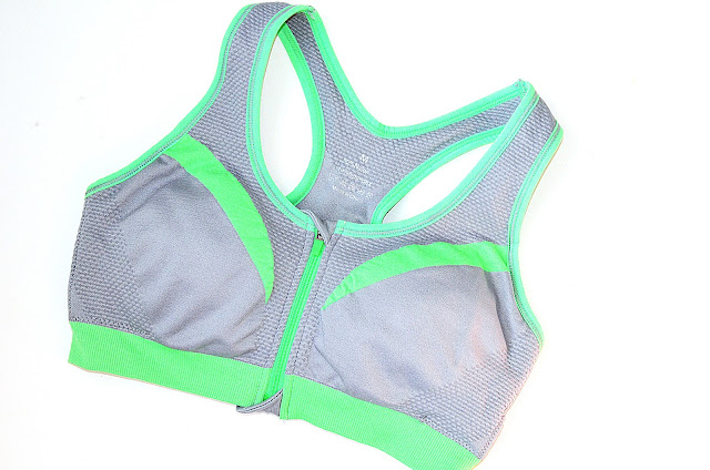 Front Zip Mid Impact Sports Bra zaful.com
