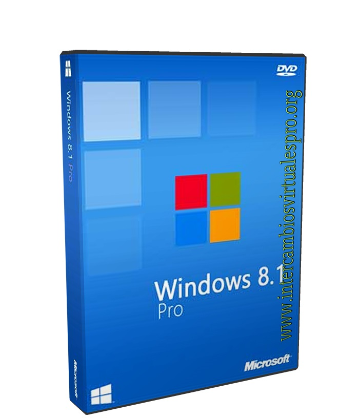 Microsoft Windows 8.1 Professional poster box cover