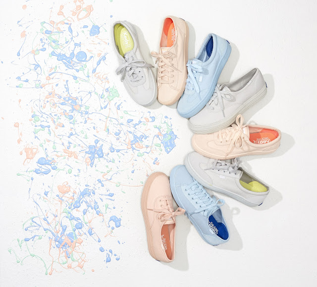 Pastel-Perfect Palette from Keds