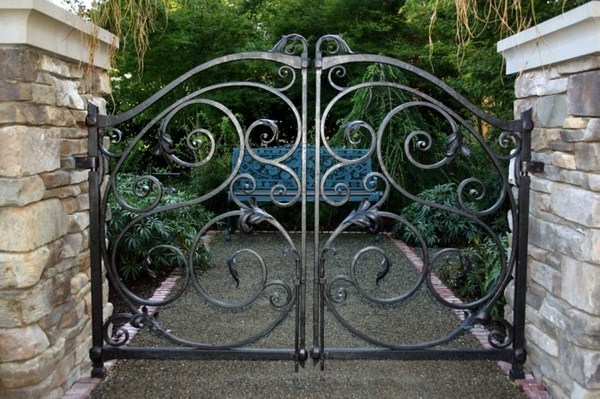 Garden Gate From Metal