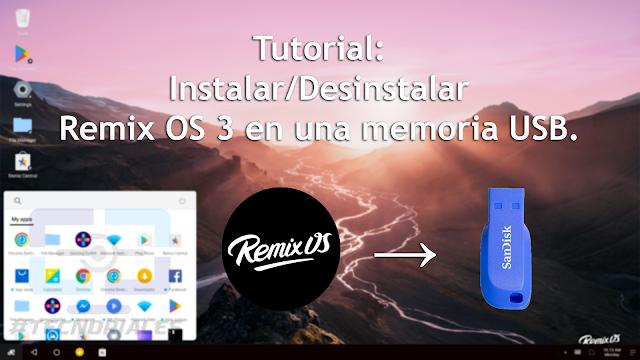 Portada Instalar Remix OS 3 en USB
