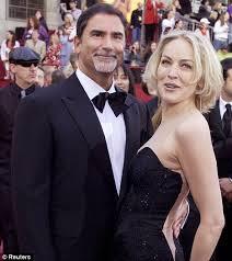 Sharon Stone & Phil Bronstein