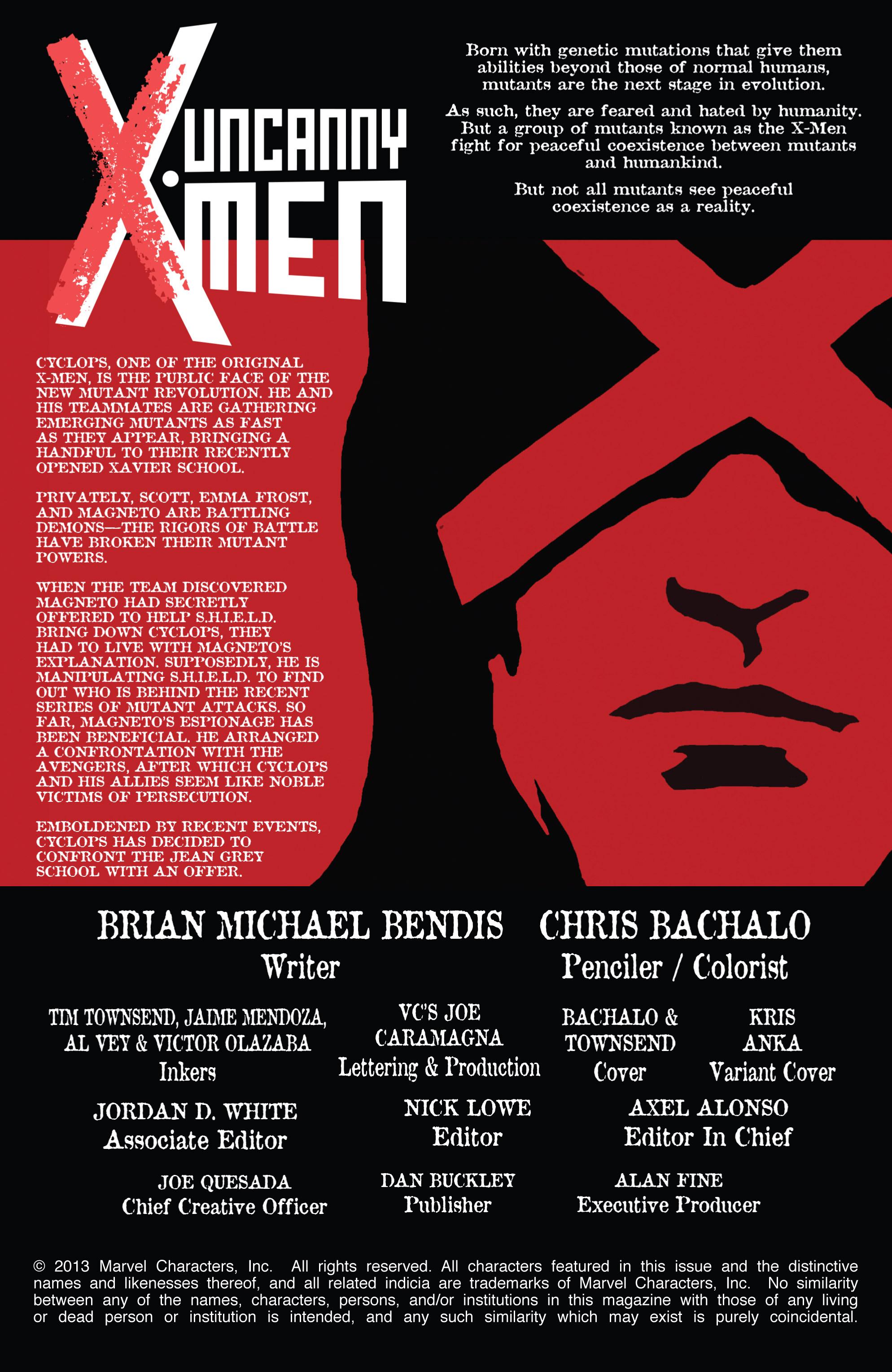 Read online Uncanny X-Men (2013) comic -  Issue #4 - 2
