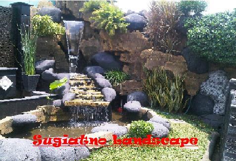 kolam minimalis   relif tebing   tukang taman