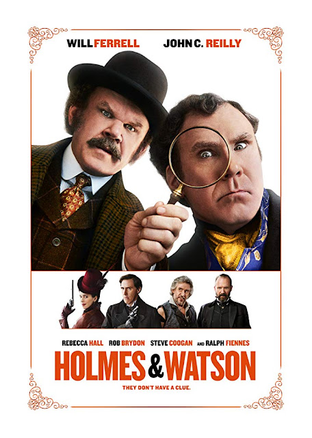 Holmes and Watson 2018 movie poster