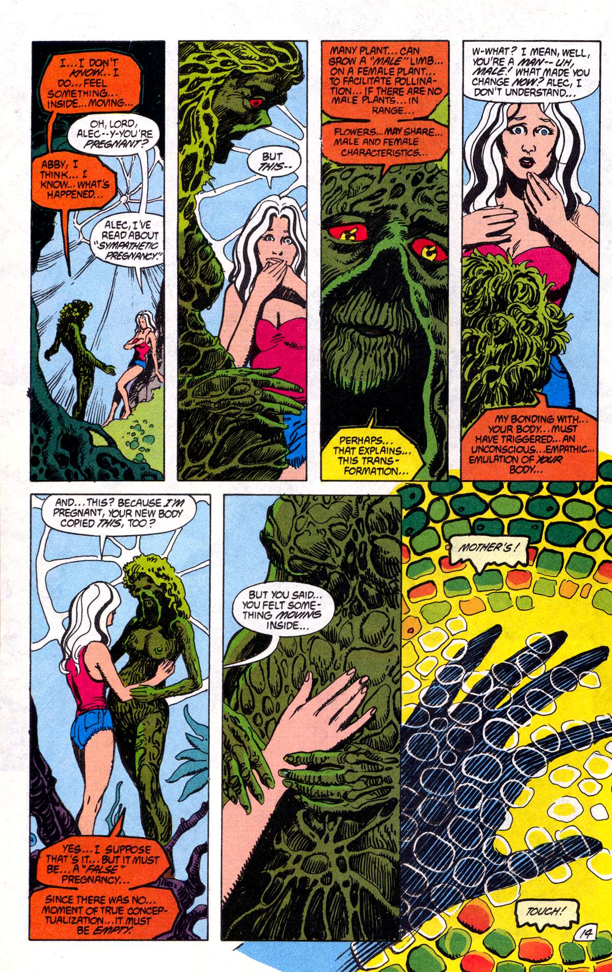 Swamp Thing (1982) Issue #78 #86 - English 15