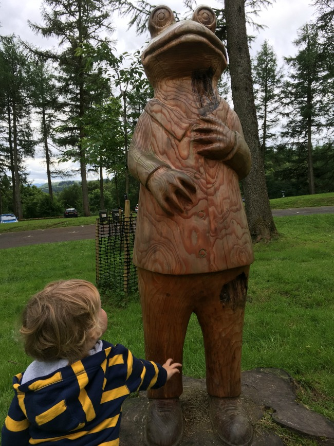 Garwnant-Visitor-Centre-A-Toddler-Explores-toad-of-toad-hall