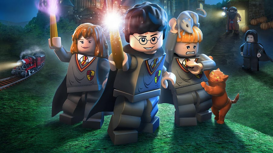 lego harry potter collection trophies
