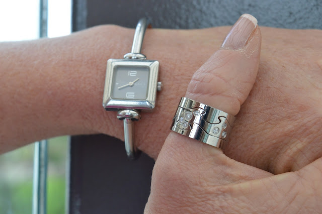 Sydney fashion Hunter - The Wednesday Pants #41 - Envy Jewellery Love Ring & Gucci Watch
