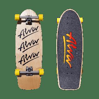 アルバクラシックピッグサーフスケート販売開始 / レトロスタイルが夏に欠かせない