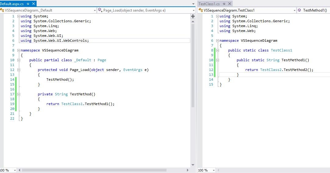 .netfreak: Generate UML Sequence diagram from Visual Studio