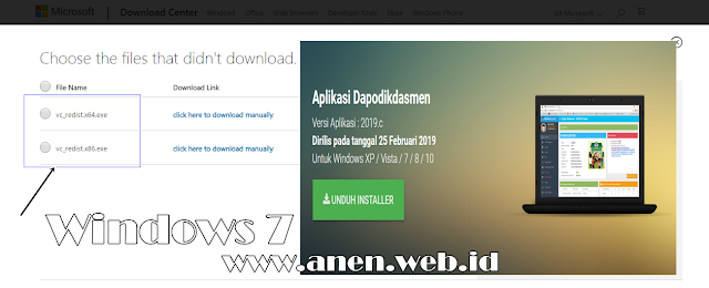 Cara Update Windows 7 32 Bit Support Dapodikdasmen