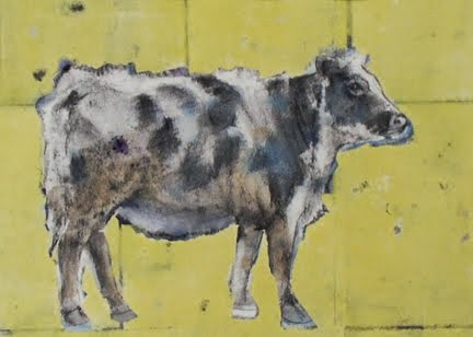 Cow (on Yellow Ground)
