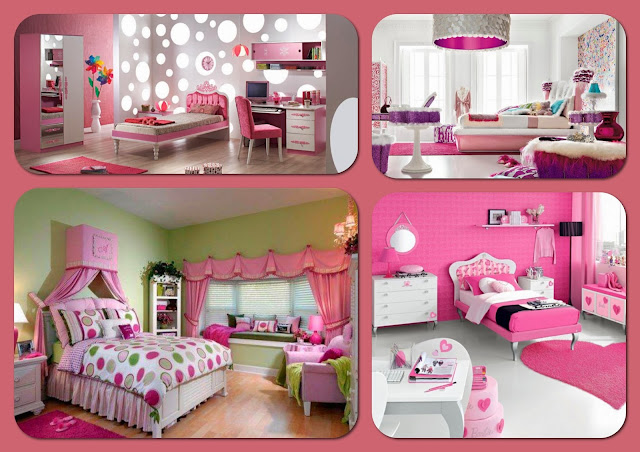 Exciting Pink Bedrooms Ideas For Your Teen Girls