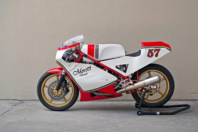 Moretti Ducati Vintage Race Bike   99garage   Cafe Racers ...