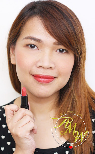 a photo of Dearberry Lip Service shade Berry Scarlet and Flirt Lipstick Italian Rose