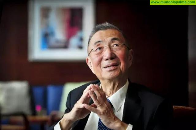 El Cabildo distinguirá al Premio Nobel de Física Samuel C. C. Ting en el Paseo de las Estrellas de la Ciencia