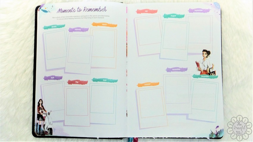 A Close-up Look inside a Filipino Lady`s Planner: 2018 Belle De Jour Power Planner | First Impressions and Reviews | Moments to Remember Pages - Top Beauty, Books, Health, Fashion, Life, Lifestyle, Style, and Travel Blog/Website - by Filipino/Filipina/Pinay - Blogger/Freelance Writer in Quezon City, Metro Manila, Philippines