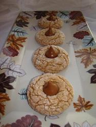 Caramel Apple Spice Cookies