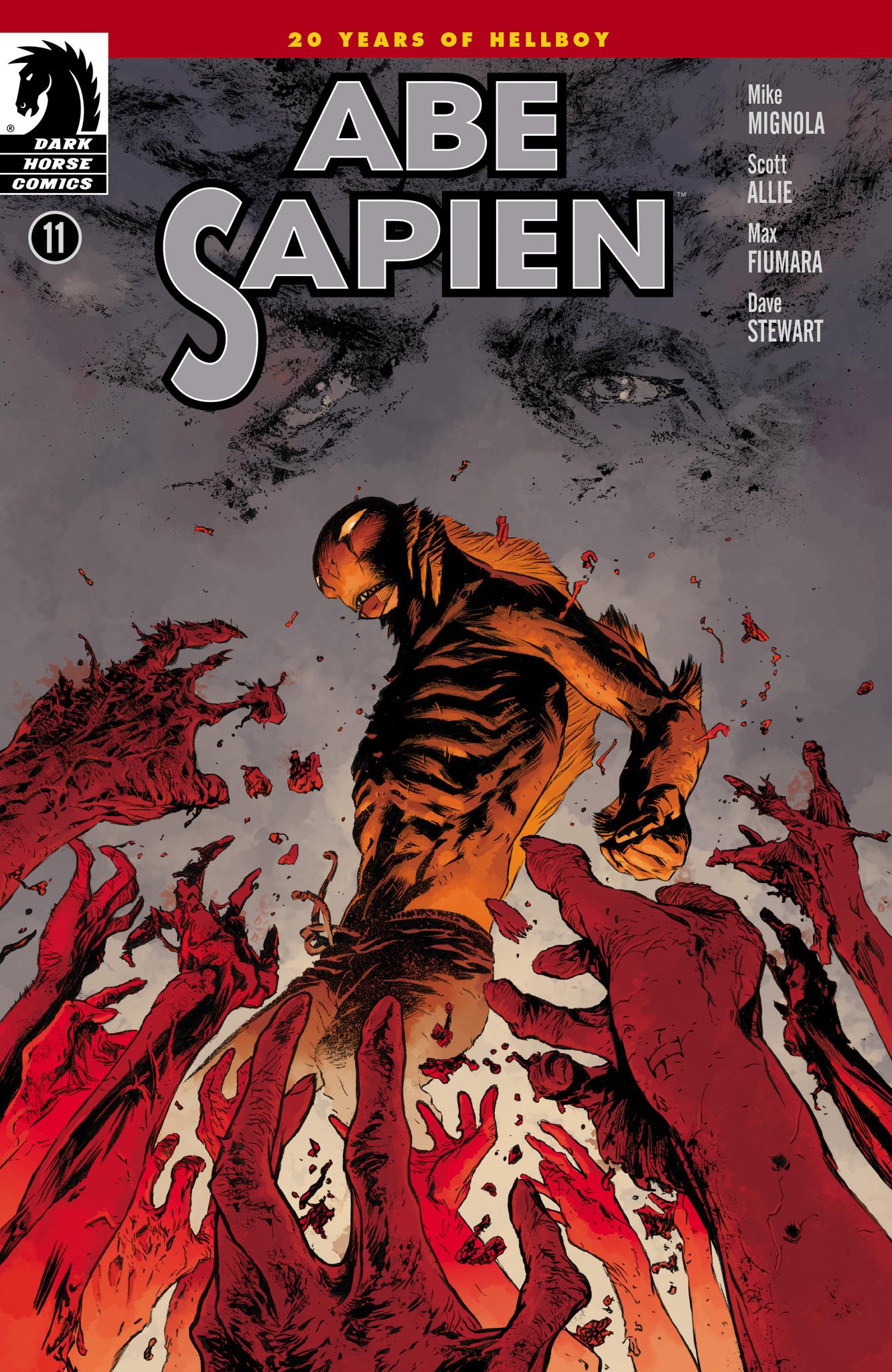 Read online Abe Sapien comic -  Issue #11 - 1