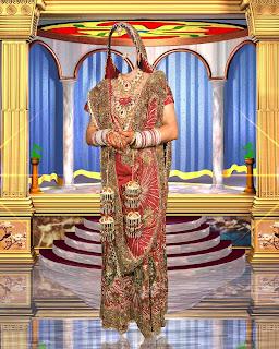 Aman Studio Indian Bridal Dress Psd 03
