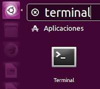 Terminal icono