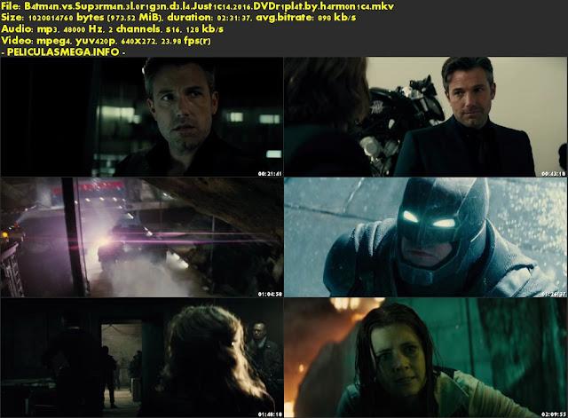 Descargar Batman V Superman: El origen de la justicia Latino por MEGA.