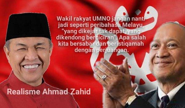 Realisme Ahmad Zahid