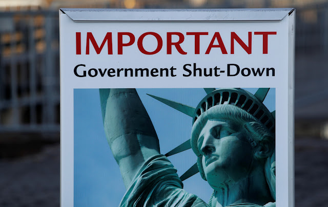 ေမာင္လူေပ- ဗဟိုအစိုးရ ရပ္ဆိုင္းျခင္း(Government shutdown)