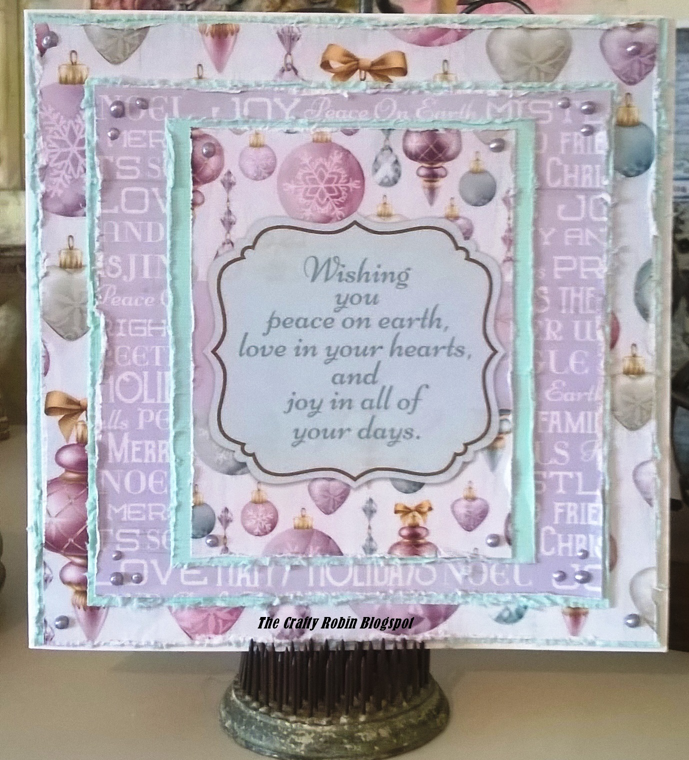 The Crafty Robin Kaisercraft Christmas Wishes Collection – Christmas Wishes Samples