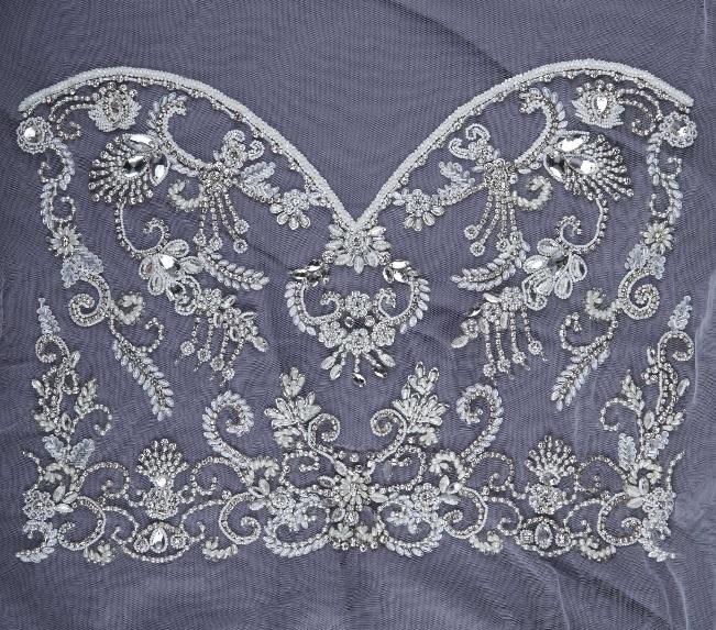 como hacer aplicaciones para vestidos de novia – vestidos madrina