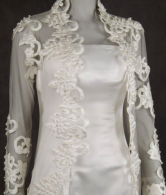 Fashion: New Bridal Lace Jacket Fashion