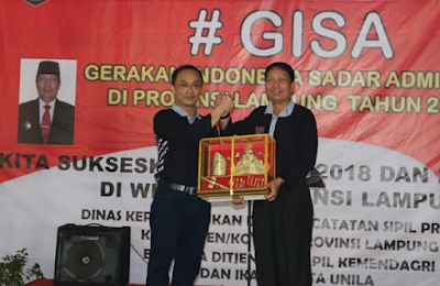 Dirjen Dukcapil dan Pjs. Gubernur Didik Launching Gerakan Sadar Adminduk (GISA)