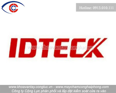Logo thương hiệu kiểm soát cửa Idtech.