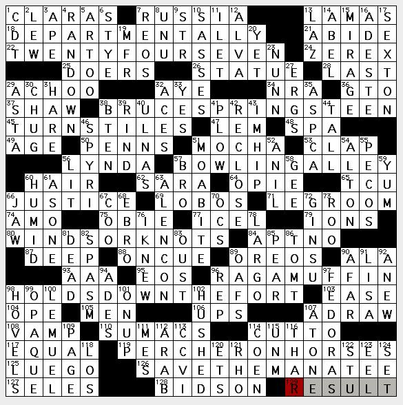 Rv hook up group crossword