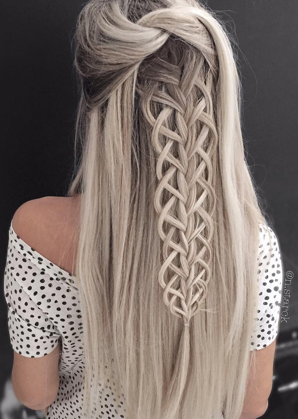 luxury blond ombre