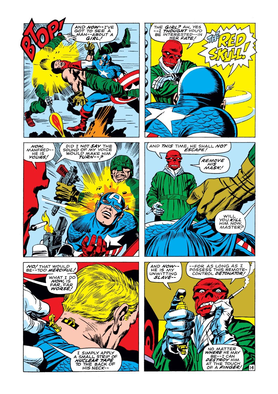 Captain America (1968) Issue #103 #17 - English 15