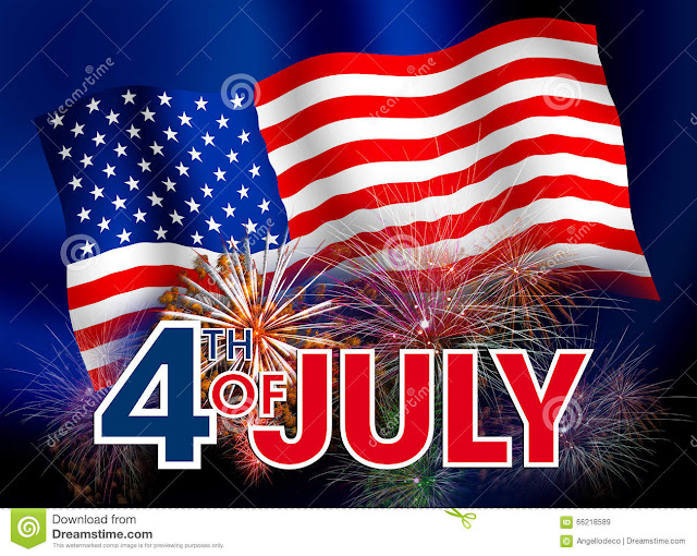 4th july Greetings cards