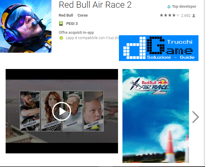 Trucchi Red Bull Air Race 2 Mod Apk Android v1.0.4