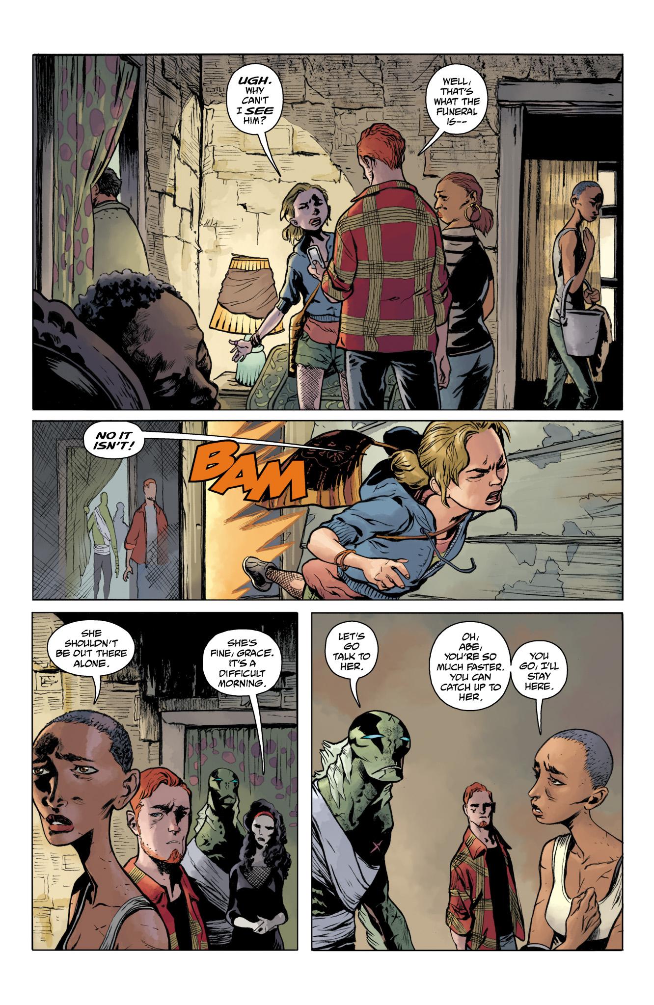 Read online Abe Sapien comic -  Issue #20 - 4