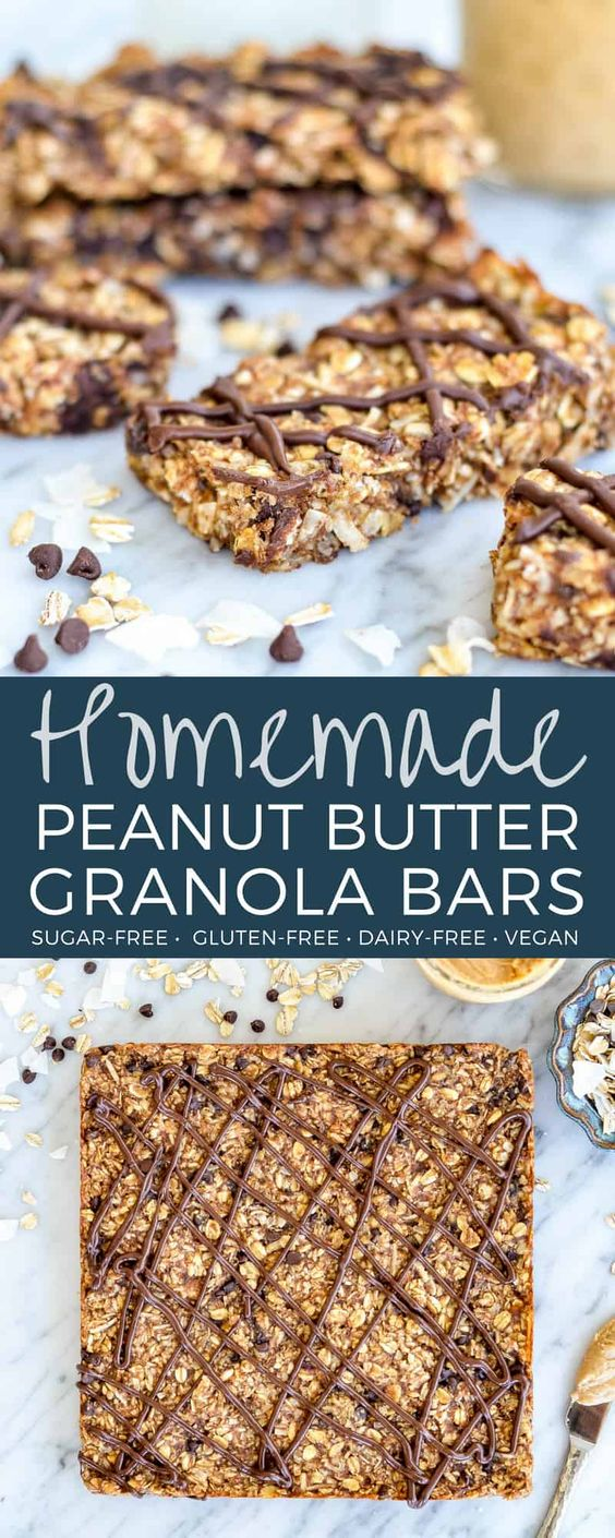 Homemade peanut butter granola bars reipe delicious food visit full recipes recipes growtopiarecipes food forumfinder Images