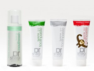 Eco-Babyz: Dr  Sharp Fluoride-Free Toothpaste Review