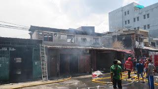 Kebakaran di Tambora Diduga Karena Korsleting, 12 Rumah Terbakar