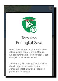 Cara menemukan HP Android yang hilang Lewat Google Maps