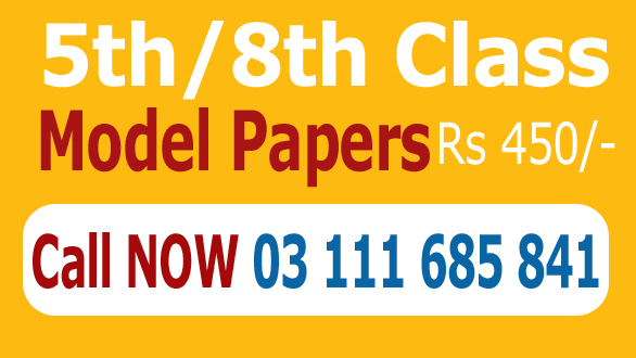 5th Class Old Past Paper 2019 Model Paper (Class V) Download 5 Year