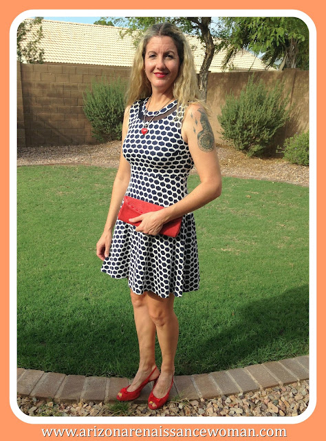 Pixley Millie Textured Dress - Stitch Fix Review September 2015