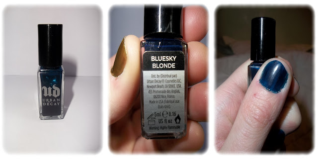 Swatch Vernis à Ongles Teinte Bluesky Blonde - Urban Decay
