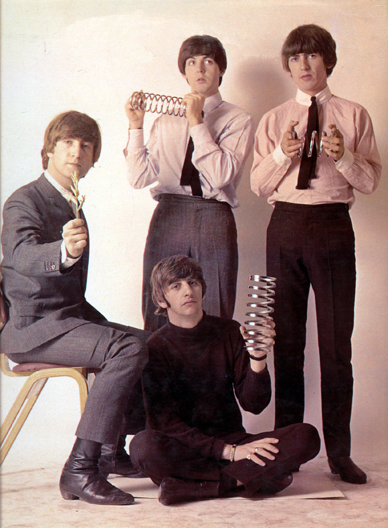 Funny Photographs Of The Beatles Taken By Robert Whitaker